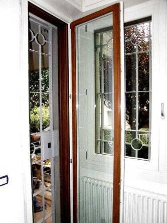 Finestra bicolore casalecchio bo ap infissi for Infissi in legno bianco