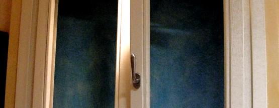 finestra laccata ral 9001